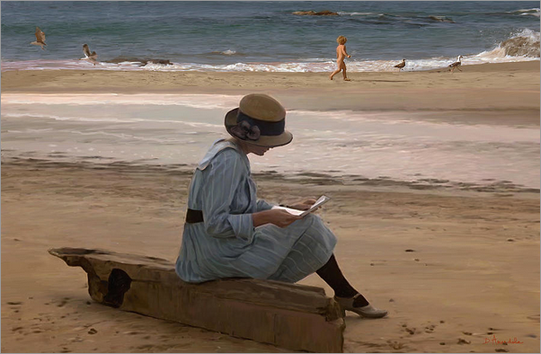 reading_a_letter_on_the_beach