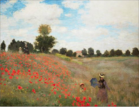 Poppy_Fields_near_Argentuil_Monet